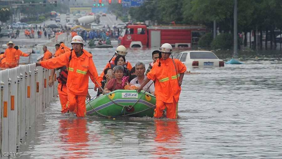 فيضانات في الصين تودي بحياة 19 شخصا على الأقل