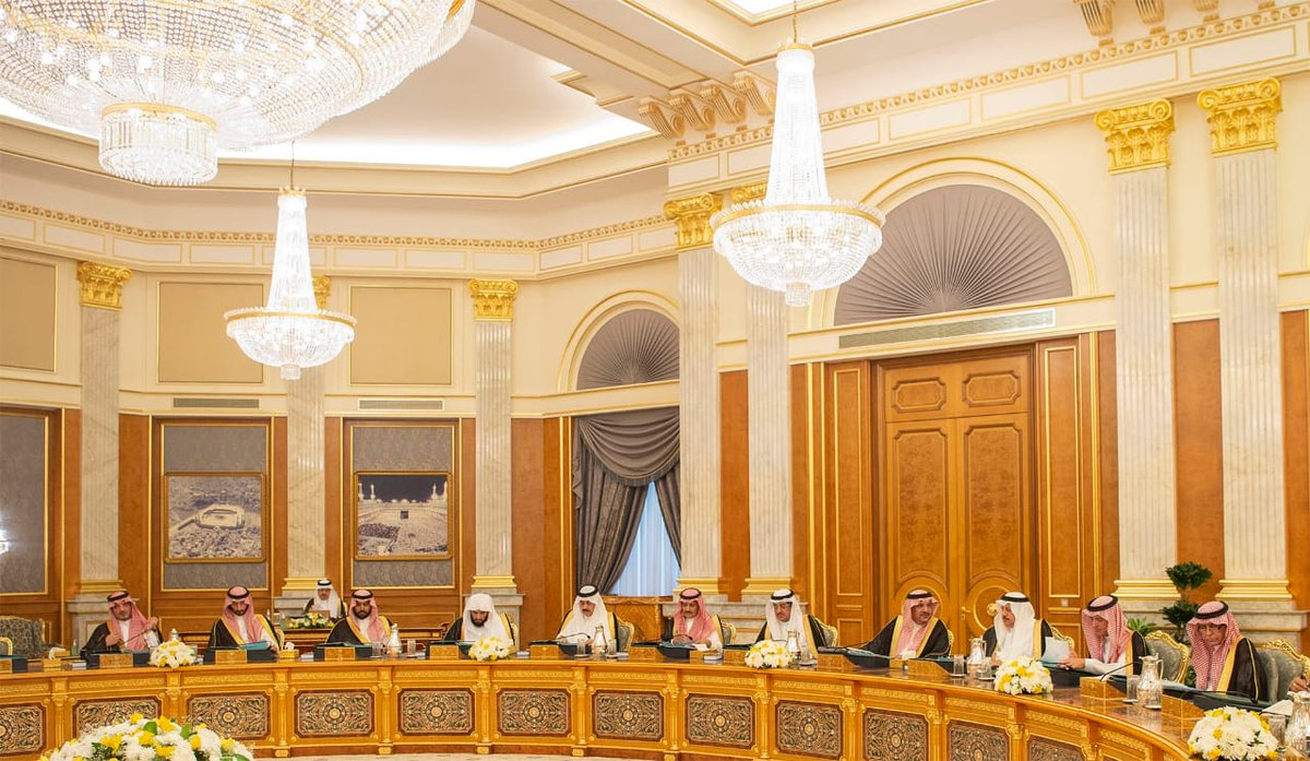 خادم الحرمين يرأس جلسة مجلس الوزراء