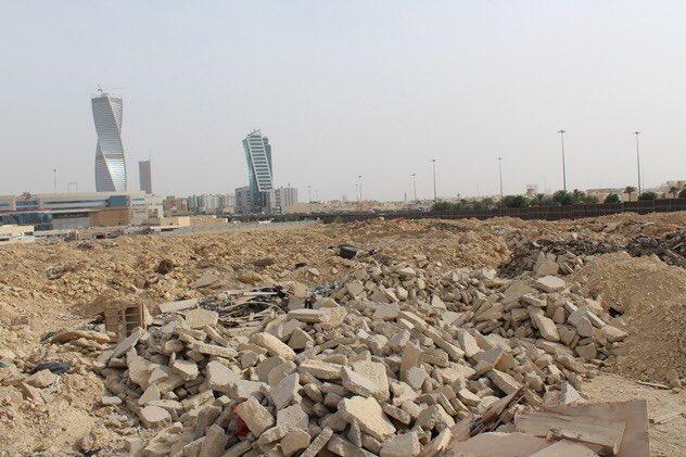 بالصور.. أمانة الرياض تزيل مخلفات تقدر بـ 63250 متر مكعب