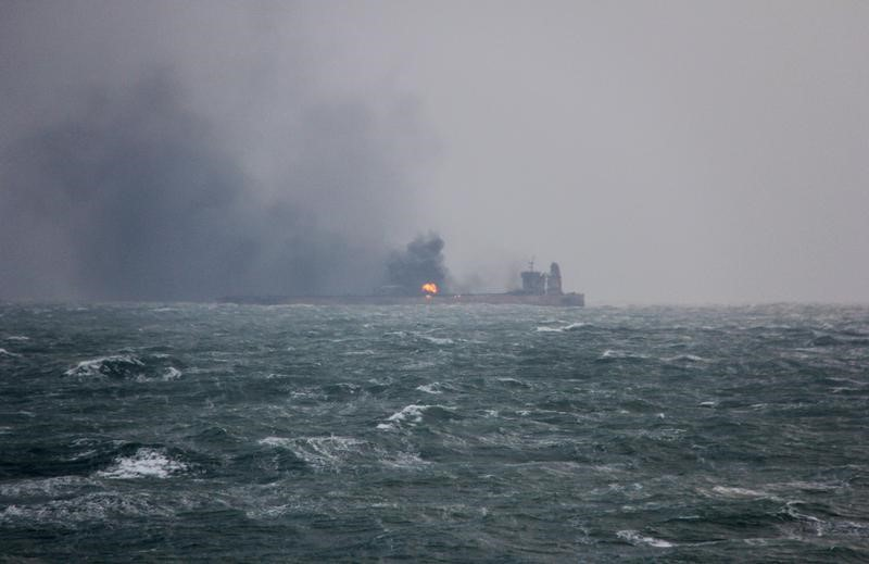 وسائل إعلام إيرانية تعلن غرق الناقلة فرونت ألتير