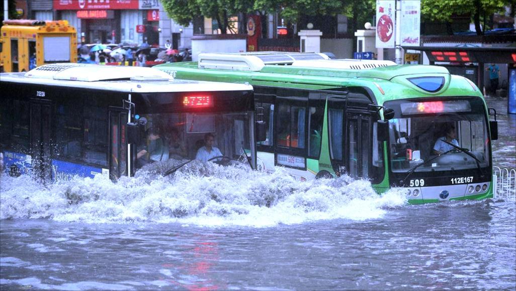 17 قتيلاً جراء العواصف في الصين