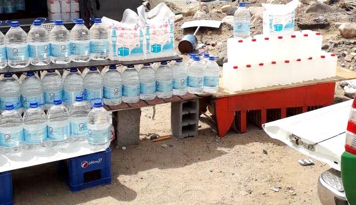 مصادرة عبوات مياه زمزم غير صالحة معروضة في طرق مكة المكرمة