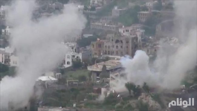ميليشيا الحوثي تقتل طفلتين في قصف منزل بتعز