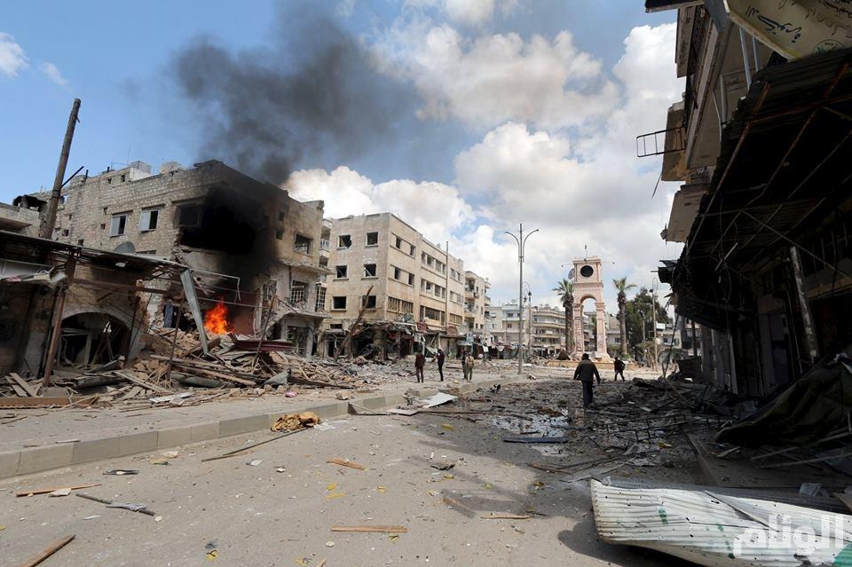 الخراب في إدلب