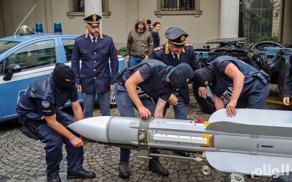 الجيش الليبي: صاروخ قطر في إيطاليا كان في طريقه لمليشيات مصراتة