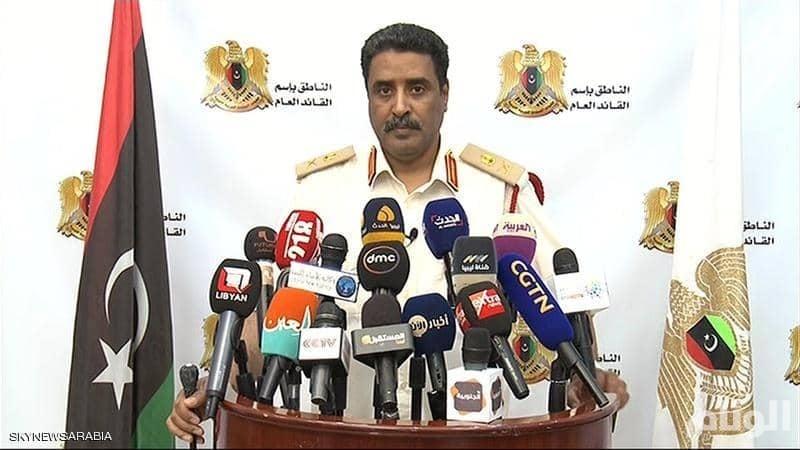 """الجيش الليبي: جماعات مدعومة من """"السراج"""" تدير عمليات تهجير في الجنوب"""