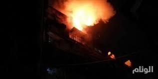 سوريا.. اندلاع حريق في برج دمشق والأسباب مجهولة