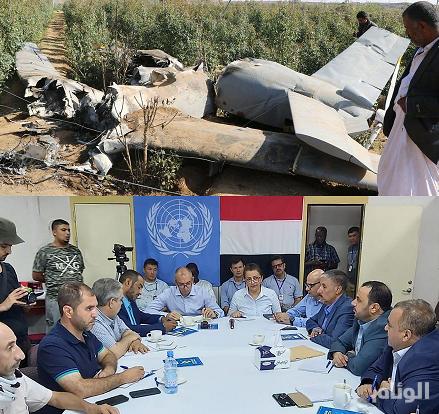 الحوثيون يعبثون بالأمم المتحدة.. أطلقوا طائراتهم المسيرة الإرهابية بالتزامن مع اجتماع الحديدة