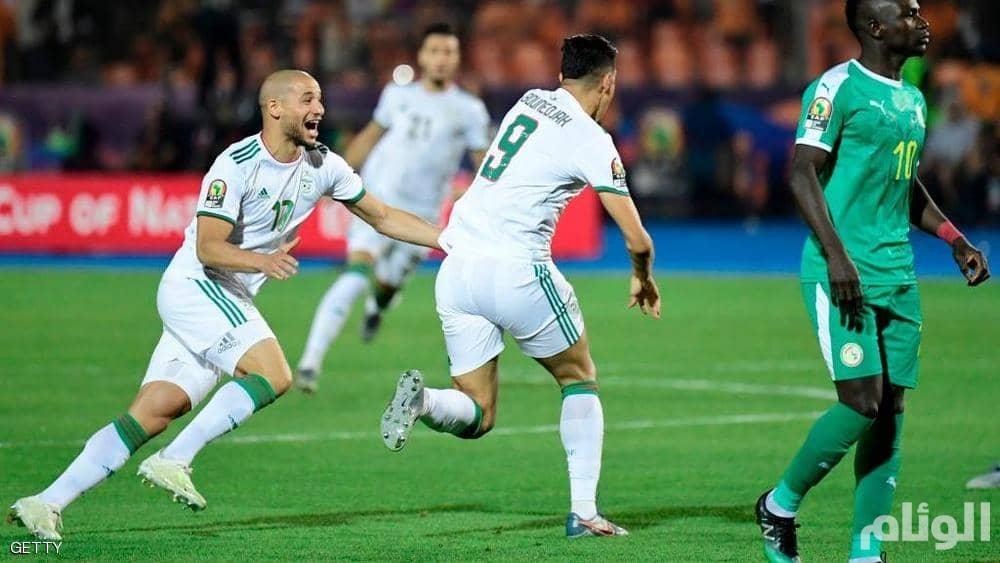 الجزائر بطلا لأفريقيا بهدف مباغت في مرمى السنغال