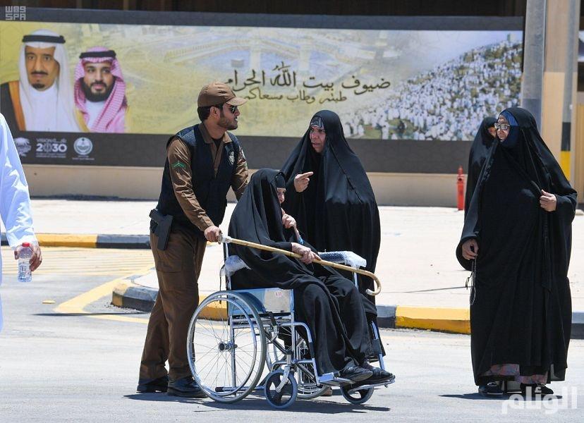 منفذ جديدة عرعر يستقبل 6000 حاج عراقي