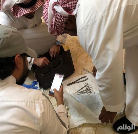 """صحة مكة: القبض على شخص انتحل صفة طبيب شعبي ومارس """"الختان"""" بطريقة مخالفة"""