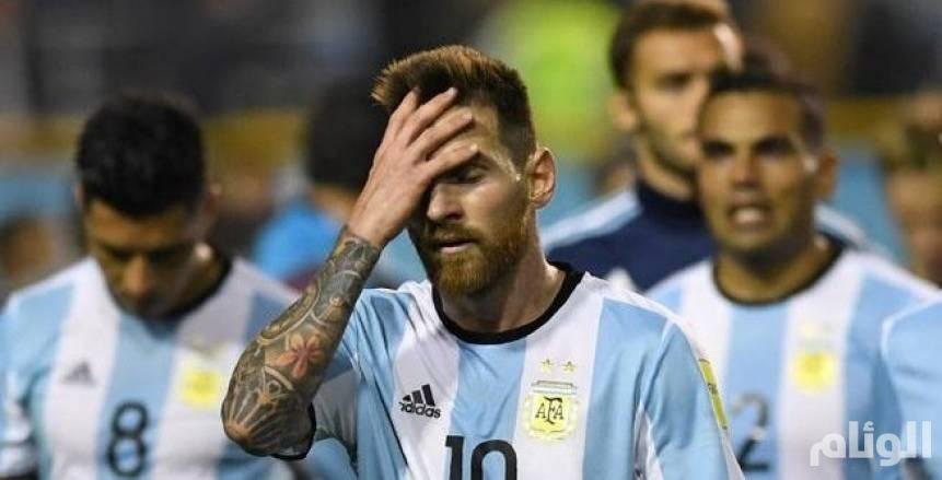المحكمة الرياضية تهدد مستقبل ميسي مع الأرجنتين