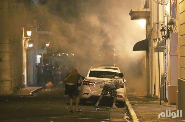 شاهد: كيف تسببت «دردرشة» بأعمال عنف دامية في بورتوريكو
