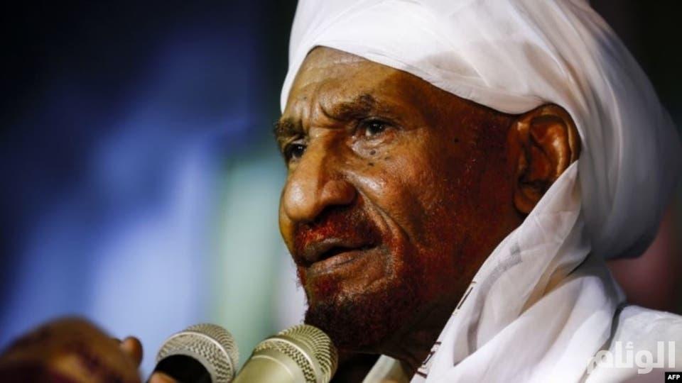 الصادق المهدي: لن أقبل بأي منصب في المرحلة الانتقالية ولن أترشح للانتخابات السودانية