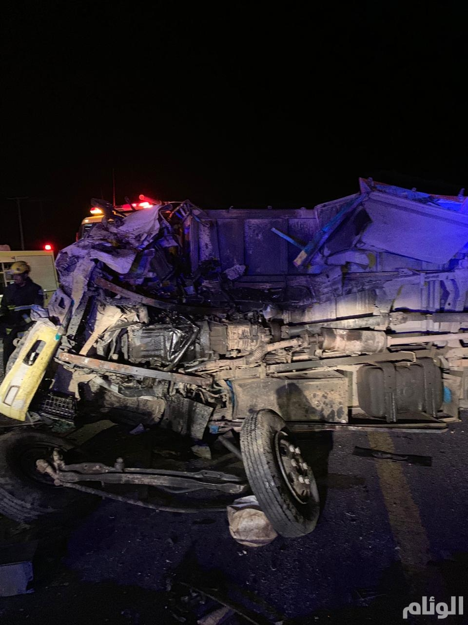 وفاة أًب وأم وطفلتهم في حادث تصادم مرّوع بالطائف