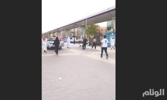 شرطة الرياض تقبض على «مخالف» تهجّم على موظفة أمن