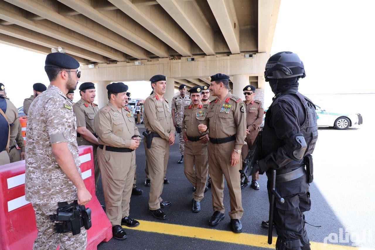 مدير الأمن العام يوجه بسرعة تفعيل نقطة بوابة المدينة الجنوبية الجديدة