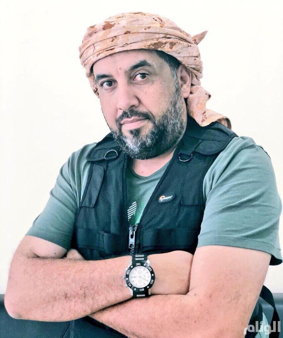 محمد العرب يرثي نفسه