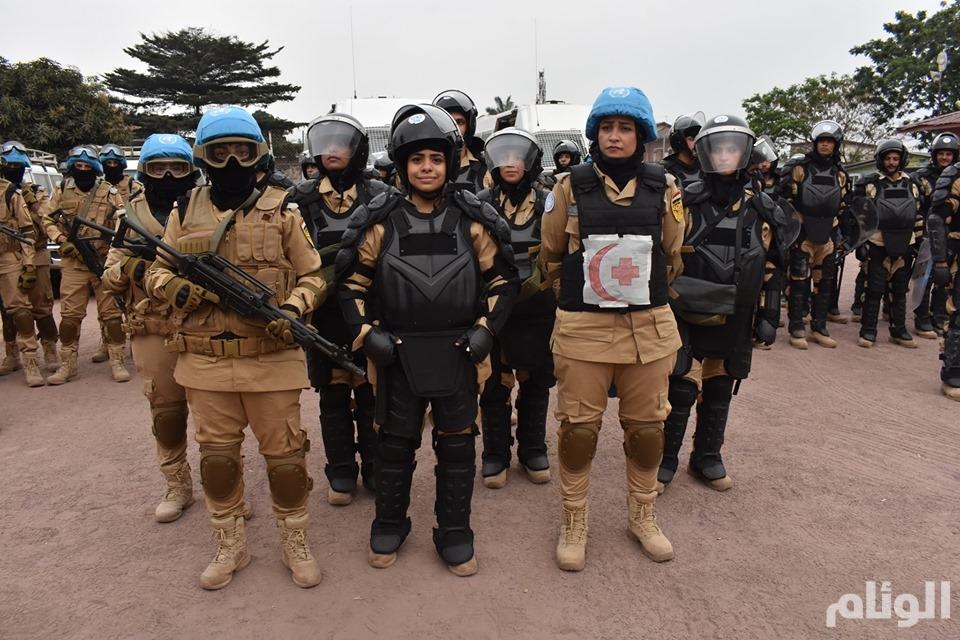 لأول مرة.. شرطيات مصريات ضمن بعثة لحفظ السلام في الكونغو