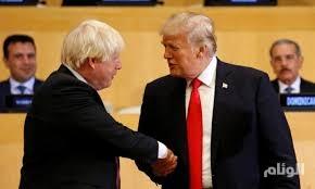 """ترامب يعرض على بريطانيا اتفاقًا تجاريًا """"كبيرًا جدًا"""""""