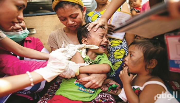 الفلبين تعلن انتشار وباء حمى الضنك على مستوى البلاد