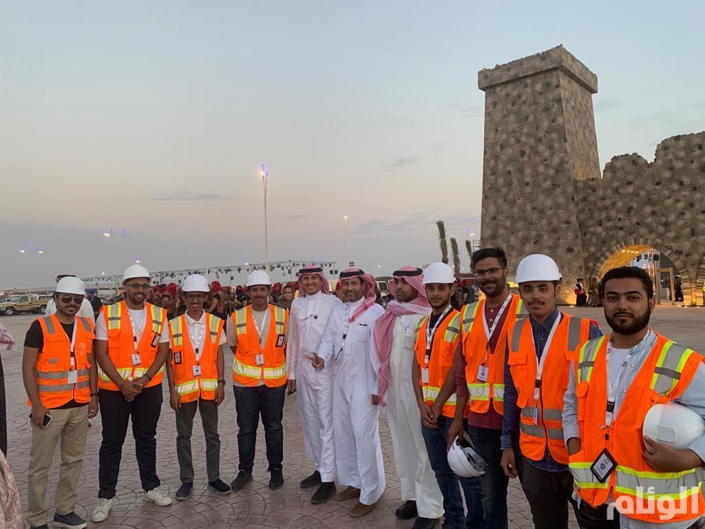 مهندسون ومهندسات من أبناء الوطن ساهموا في إظهار سوق عكاظ بحلته الجديدة في ٩٠ يوما
