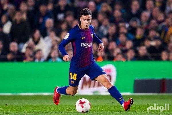 برشلونة يؤكد رحيل كوتينيو إلى بايرن ميونيخ