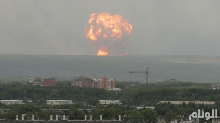 روسيا تعترف بكارثة الانفجار: أحدهم حمل آثار إشعاع نووي