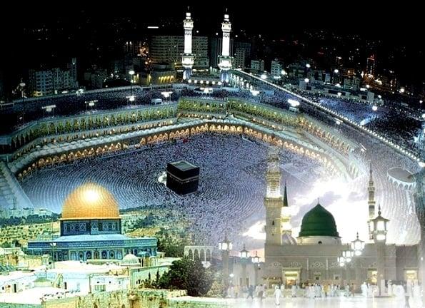 مكة المكرمة والقدس الشريف.. علاقة فريدة على مر العصور