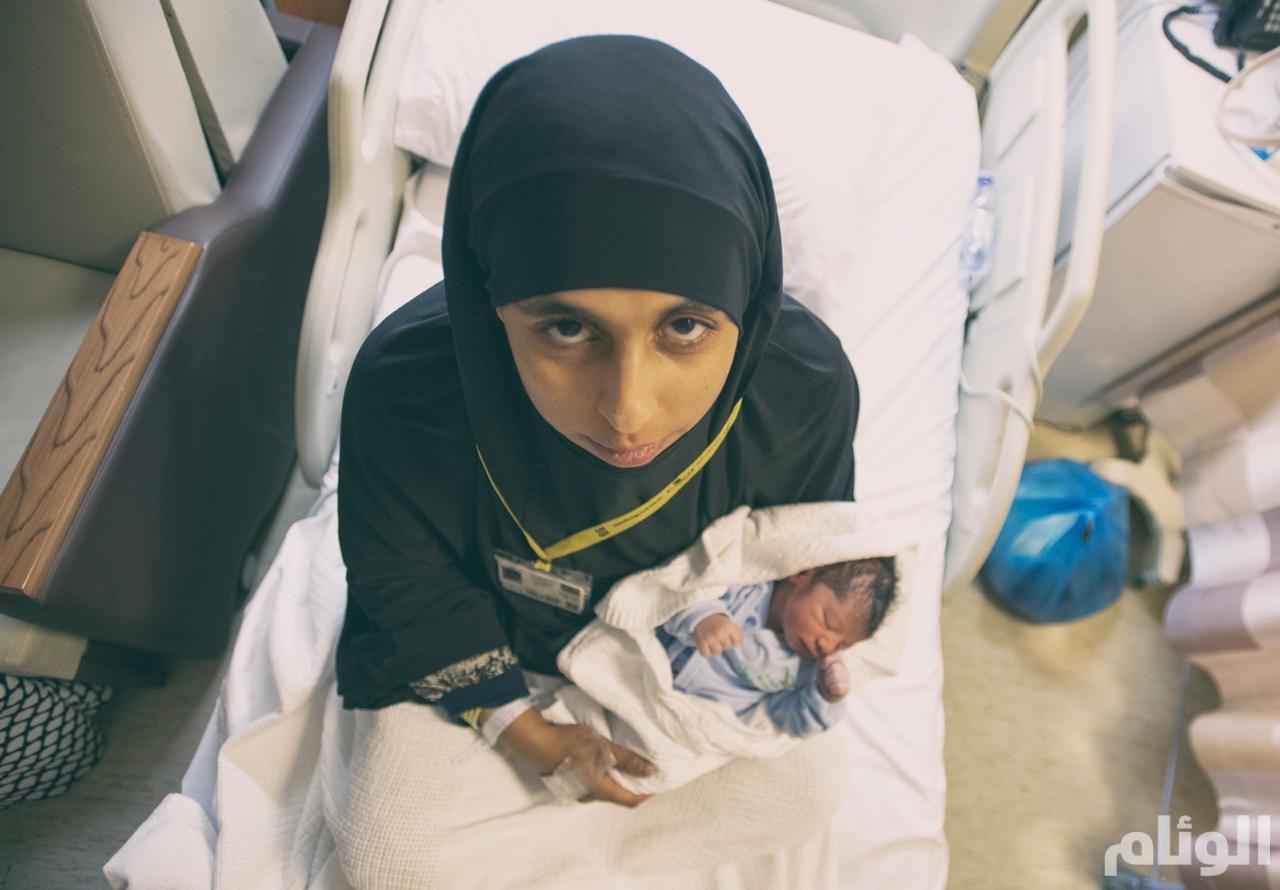مستشفيات مكة والمشاعر تشهد 8 ولادات لحاجات