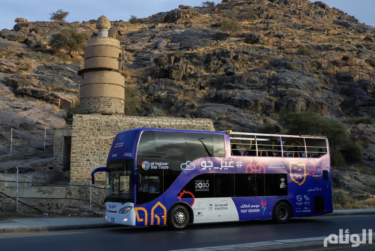 """أسطول من الحافلات الترددية ورفع الطاقة الاستيعابية لتأجير السيارات بـ""""موسم الطائف"""""""