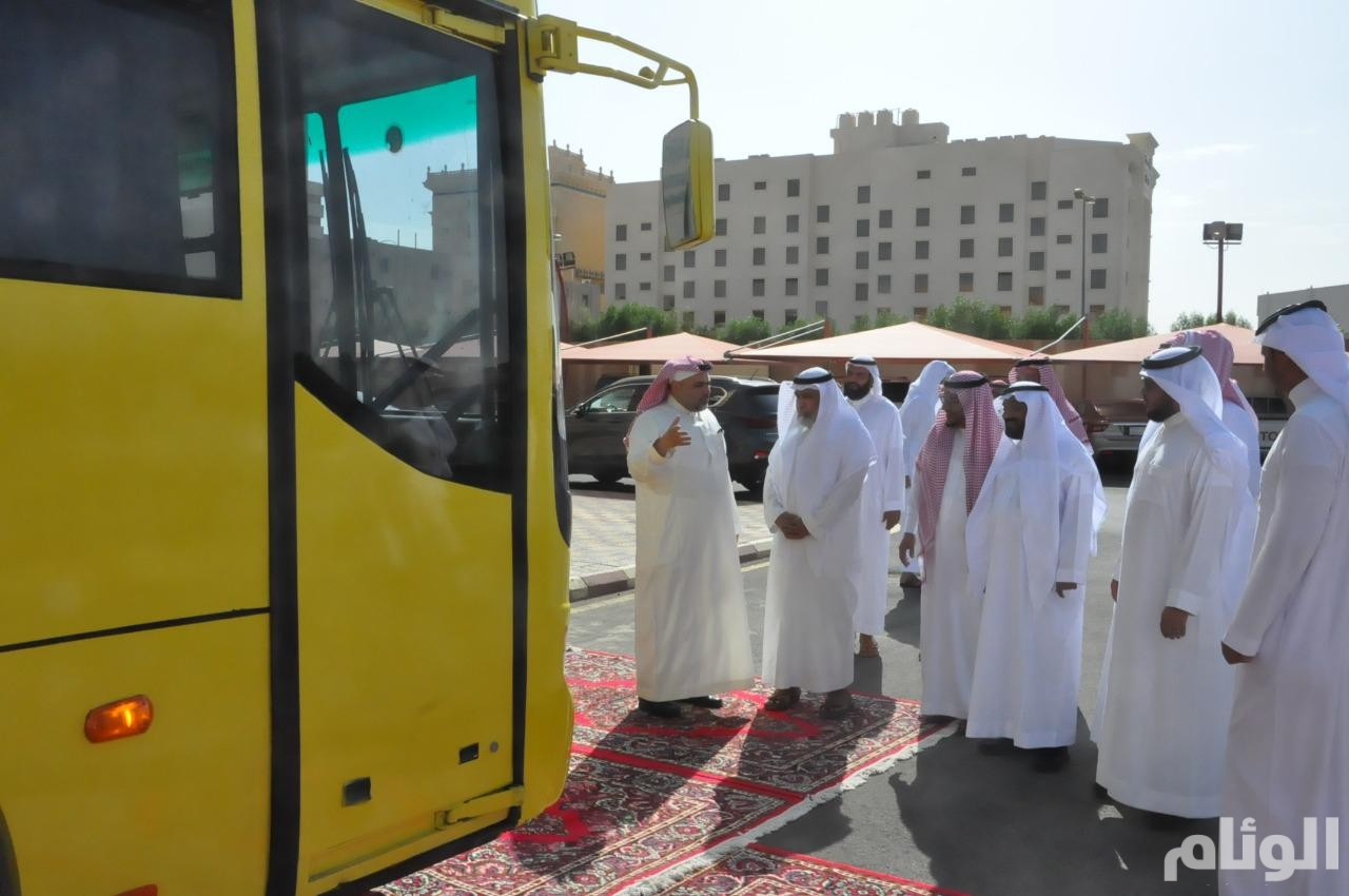 تدشين أسطول النقل المدرسي لأكثر من 27 ألف طالب وطالبة بالطائف في 400 مدرسة
