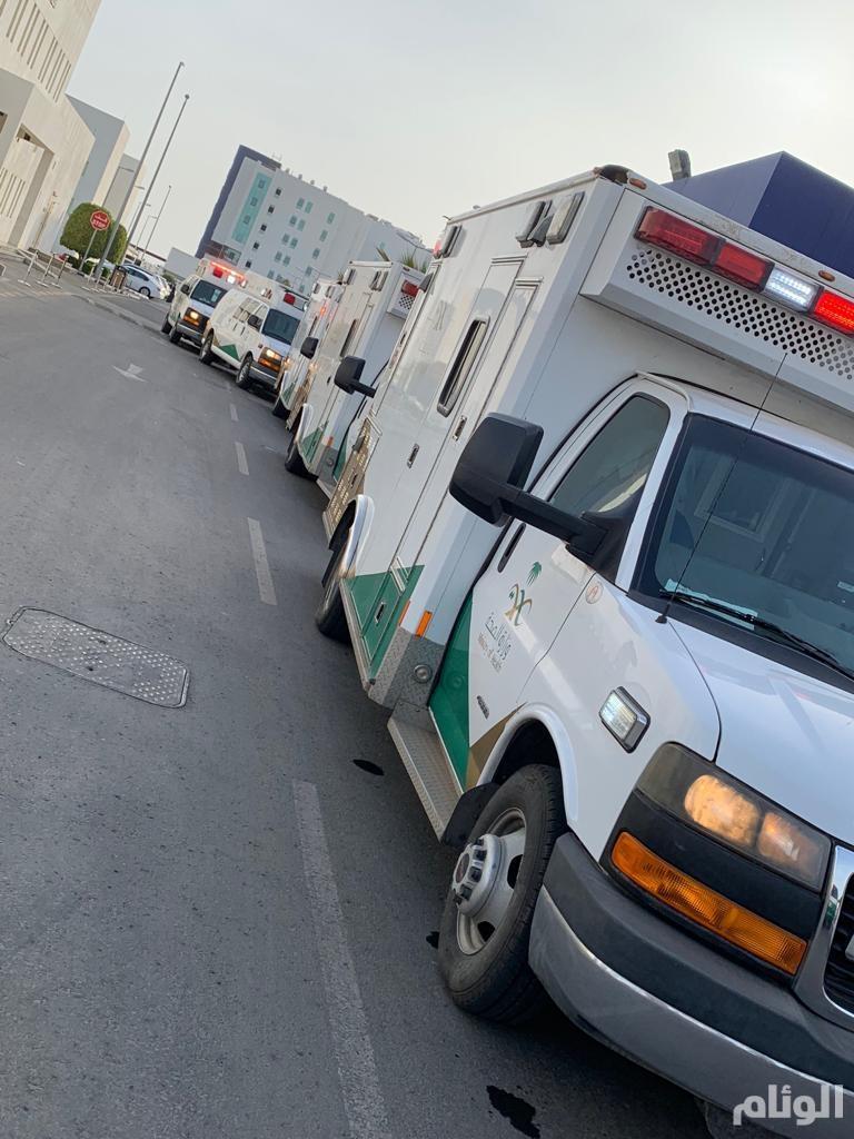 """""""صحة جدة"""" تُصعّد 7 حجاج منومين لتمكينهم من استكمال فريضة الحج"""