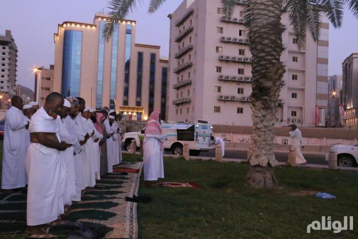هيئة الأمر بالمعروف في مكة توفر مصليات متنقلة في الأحياء التي يسكنها الحجاج