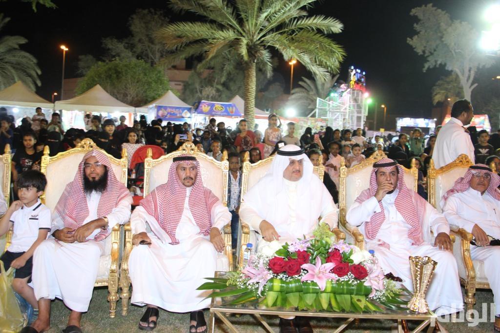 «البواردي» يفتتح مهرجان صيف شقراء 40.. تعرف على أركانه وفعالياته