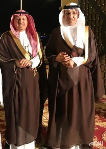 رجل الأعمال «الحارثي» يحتفي بزواج شقيقه صقر