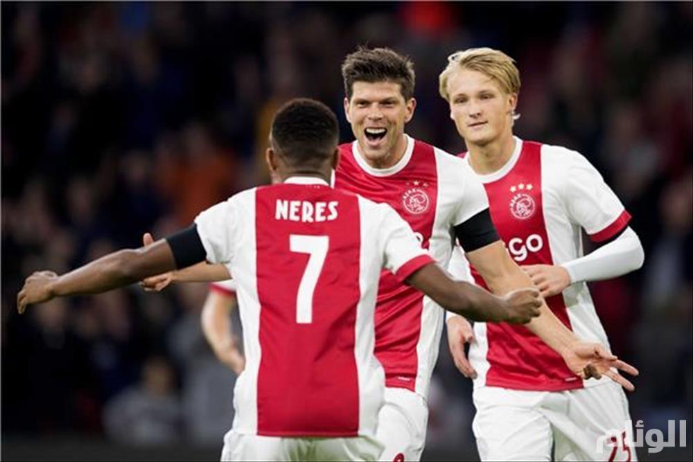 مشاهدة مباراة أياكس أمستردام وليل الفرنسي بث مباشر في دوري أبطال أوروبا