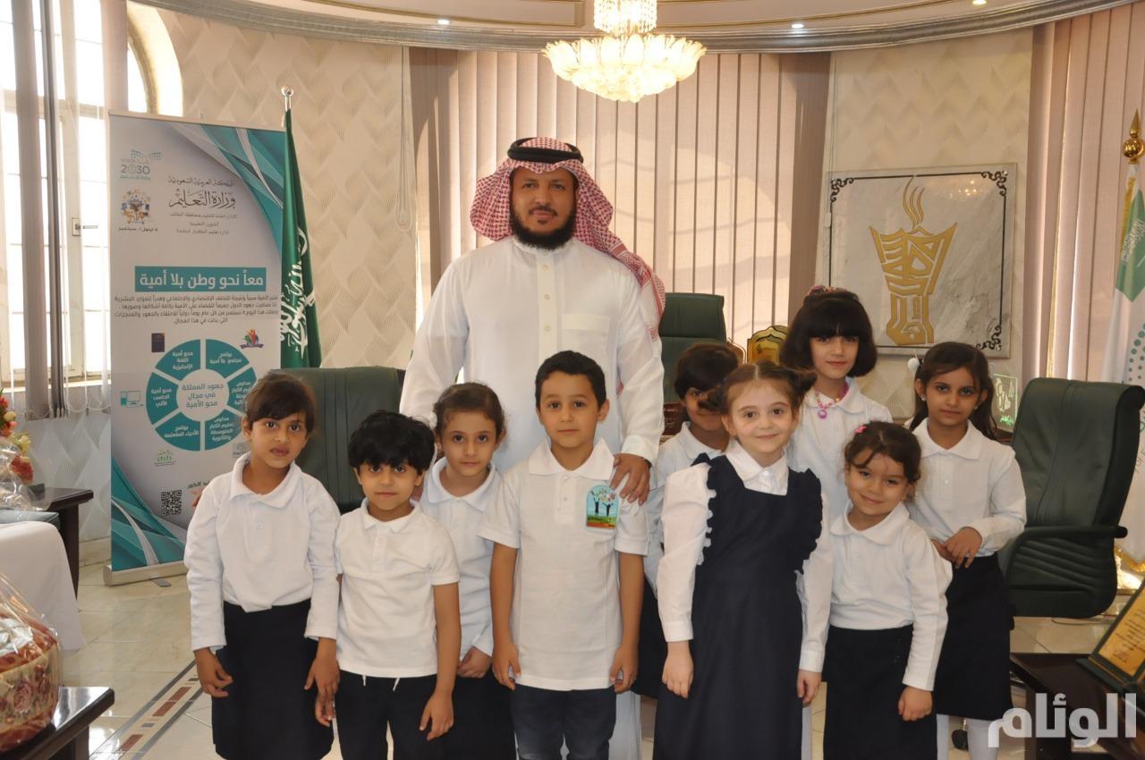 """""""التعليم"""" تحتفل باليوم العالمي لمحو الأمية"""