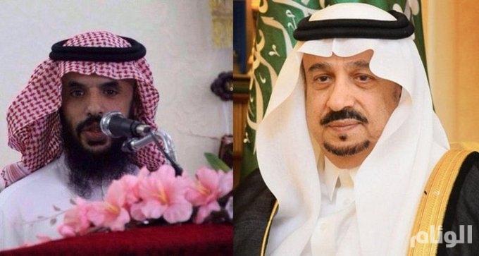 """أمير الرياض في اتصال بـ""""الحارثي"""" المتنازل عن قاتل ابنه: زرعت القدوة في المجتمع"""