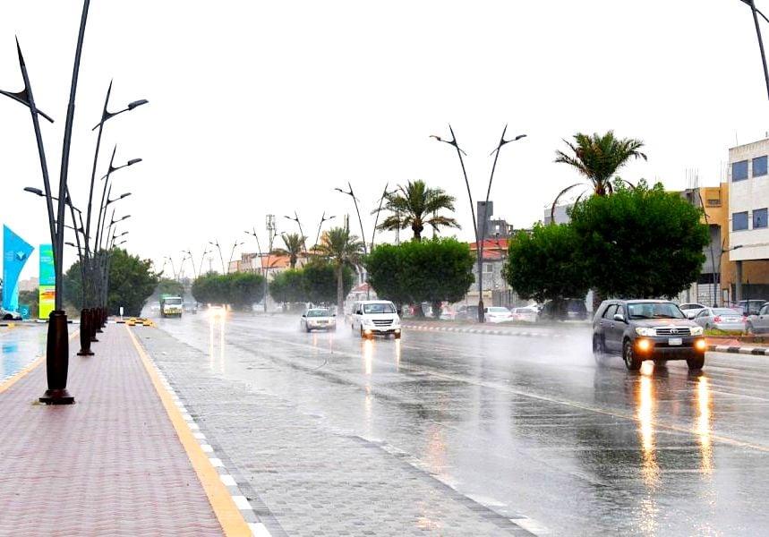 حالة_الطقس: أمطار غزيرة وسيول في مكة ونجران وجازان والباحة صباح_الخير