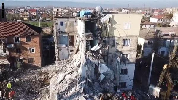 ألبانيا.. خسائر  زلزال نوفمبر  بلغت مليار يورو - صحيفة الوئام الالكترونية