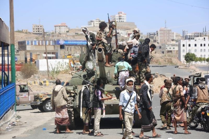 الحوثيين في البيضاء