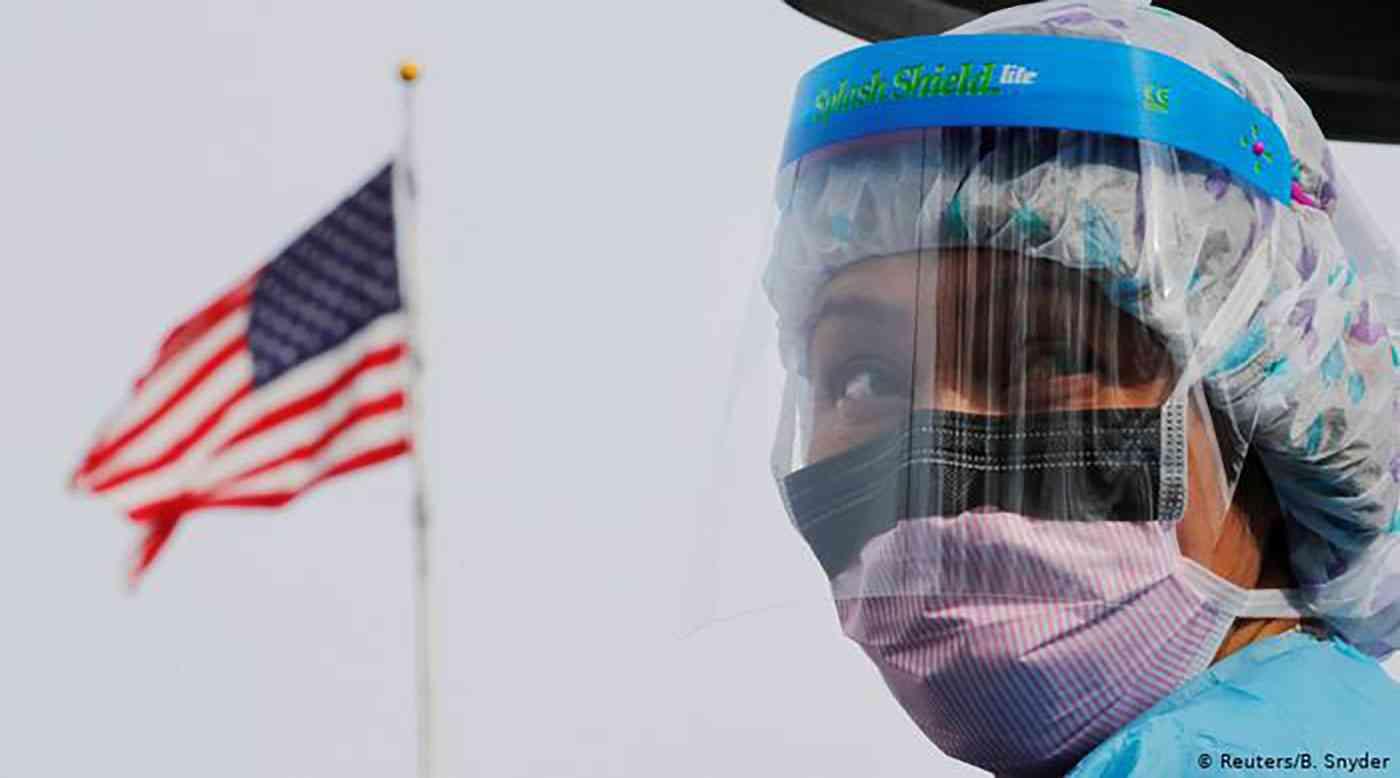 164,876 إصابة مؤكدة و 3,532 حالة وفاة بفيروس كورونا في الولايات المتحدة