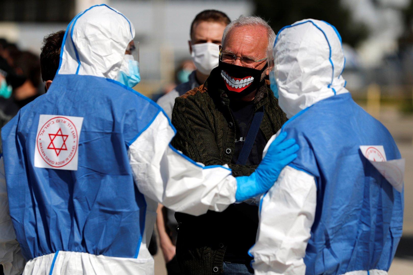 8261 إصابة جديدة بالفيروس كورونا في إسرائيل