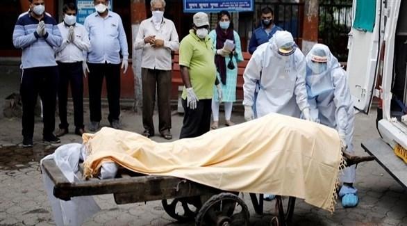 #كورونا في الهند: 44230 إصابة جديدة و555 وفاة خلال 24 ساعة