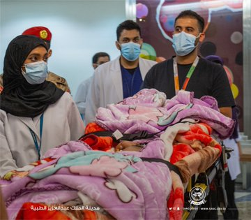 %D8%AA2 - الحرس الوطني: وصول التوأم السيامي اليمني يوسف وياسين لإجراء الفحوصات للتبين من إمكانية فصلهما جراحيا